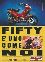 X1321 Fifty - Malaguti idee in moto - Pubblicità del 1995 - Vintage advertising