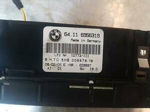 BMW 3 SERIES HEATER/AC CONTROLS E46, NO DISPLAY SCREEN TYPE, 09/98-07/06