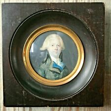 A Late 18th century Portrait Miniature of a Distinguished Man