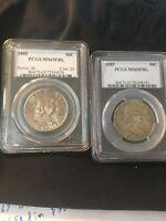 1955 50c Silver Franklin Half Dollar PCGS MS65FBL /051