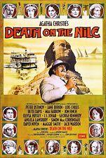 DEATH ON THE NILE (1978) DVD  MYSTERY AGATHA CHRISTIE