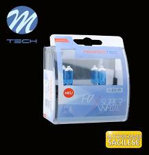 H7 ALOGENE KIT 2 LAMPADINE AUTO H7 12/55W POTENZIATE +100% OMOLOGATE MTECH