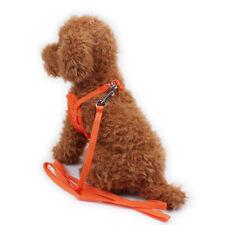 XXS Tiny Dog Harness lead Set Mesh Mini Puppy Chihuahua Rabbit Cat Toy #HD3