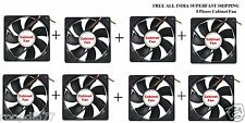 8 X Brand New Good Quality Computer Cabinet Cooling Fan Less Heat for your CPU