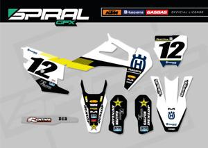 Custom Mx Graphics Kit Tc Fc 125 250 350 450 Factory 2020 2021