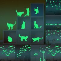 Glow In The Dark Stickers Children's Room Ceiling Wall Decal Home Decor