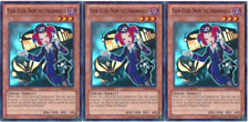 YUGIOH Card 3x Tour Guide from the Underworld CT09-EN013 Limited Edition