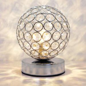 Modern Crystal Round Ball Table Light G9 Bedside Study Office Desk Lamp M0244