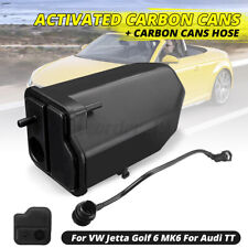 Evaporation Carbon Charcoal Canister & Breather Hose For Audi TT VW Jetta