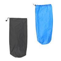 2pcs camping ultra-léger cordon sac de couchage sac de couchage tapis de
