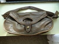 Caterina Lucchi Genuine Leather Shoulder Bag Handbag Purse Made in Italy