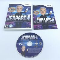 Jeopardy (Nintendo Wii, 2010) Complete With Manual CIB