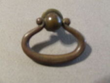 Antique Vintage Brass Single Drawer Pull (Sd3 93)