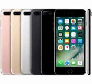 New(Sealed) Apple iPhone 7 Plus 32 GB/128 GB Matte Black-Cricket Locked