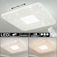 LED Decken Lampe Kristalle Sternen Himmel Effekt Baby Kinder-Zimmer Flur Leuchte