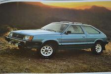 True Vintage Original 1982 Subaru Loaded Sales Brochure 28 Pages Free Ship