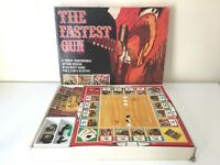 The Fastest Gun Board Game Denys Fisher Vintage 1973 Incomplete Good For Spares