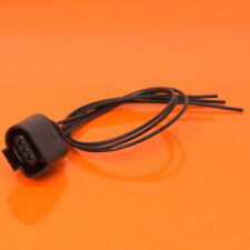 VW AUDI VAG 1J0 973 703 3 Pin Pre Wired Pigtail Connector Plug 1J0973703