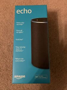 Amazon Echo (2nd Generation) Smart Assistant - Charcoal Fabric