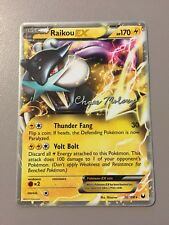 Rare Pokémon Card Raikou Ex World Championships 2012 38 / 100 Chase Moloney