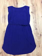 Reiss Womens Cobalt Blue Tunic Shift Slip Dress Size UK 6 Lightweight XS