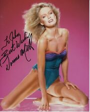 DONNA MILLS Autographed Signed SEXY BATHING SUIT Photograph - To John