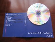 "DAVE GAHAN & THE SOULSAVERS ""ANGELS & GHOSTS"" RARE PROMO CD DEPECHE MODE"