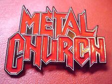 Metal Church Heavy/Power/Thrash Metal Patch Pin Badge Savatage
