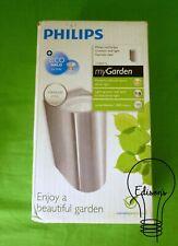 Philips Ruiseñor arriba y abajo Luz de Pared Acero Inoxidable mi jardín 171024716