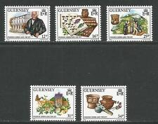 Guernsey 1988 Frederick Corbin Lukis-Attractive Science Topical (385-89) Mnh