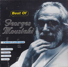 Best of Georges Moustaki (CD, 1999 Berger) Famous French Singer/Swiss Import/NEW
