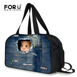 Carry On Sports Gym Bag Travel Duffle Bag Satchel Training Tote Handbags Canvas