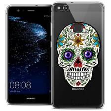 """Coque Crystal Gel Pour Huawei P10 LITE (5.2"""") Souple Skull Maria's Flower"""