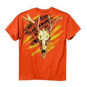 Buck Wear Hunting T-Shirt - High Visability Blaze Orange Hi Viz Flourescent