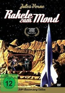 # DVD RAKETE ZUM MOND - JULES VERNE - 50th ANNIVERSARY EDITION *** NEU ***