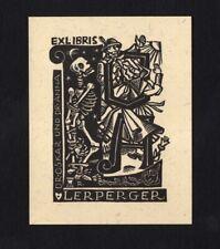 EXLIBRIS,141b - Rose Reinhold - Tod+Leben / death+life