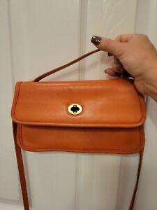 vintage coach bag Orange
