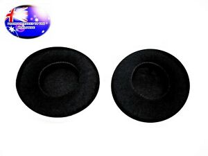 From Oz Headphone Cushion Soft Velvet Comfy Earmuffs Pads Suit 100mm Over On Ear