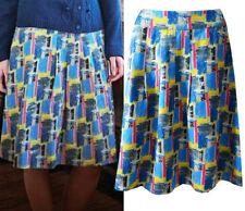 Gonne e minigonne da donna casual multicolore in cotone