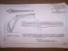 torpedo tube/aircraft catapult plans