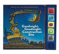 Goodnight, Goodnight Construction Site Sound Book  VeryGood