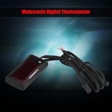 Alta Calidad Digital Termómetro Moto Indicador De Temperatura Para Racing Scoote