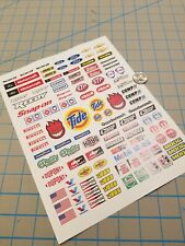 New RC Scale Racing Decals No.2 for TAMIYA HPI LOSI KYOSHO 1/8 1/10 1/12
