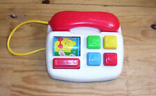 Jouet vintage 1er age Telephone Fisher Price