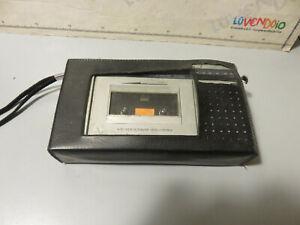 Radio SOUNDIC  SCR 380 Stereo Lettore portatile a cassette vintage con cover