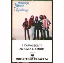 "I CAMALEONTI "" AMICIZIA E AMORE "" MC  MUSICASSETTA NUOVA K7 RARA 1974"