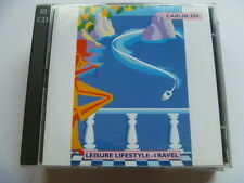 LEISURE LIFESTYLE TRAVEL 2 CD CARLIN  RARE LIBRARY SOUNDS MUSIC CD