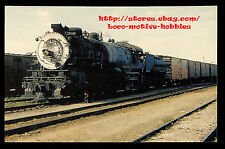 LMH Postcard SOUTHERN PACIFIC 2-10-2 Three-Cylinder SP 3690 X3690 Tracy Yard '56