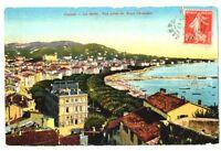 CPA 06 Alpes-Maritimes Cannes Le Cours Vue prise du Mont Chevalier
