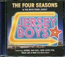 THE FOUR SEASONS & THE JERSEY BOYS CD - SHERRY, RAG DOLL, WALK LIKE A MAN & MORE